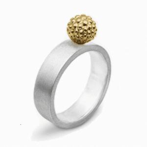 Большое серебряное кольцо - Велика срібна каблучка