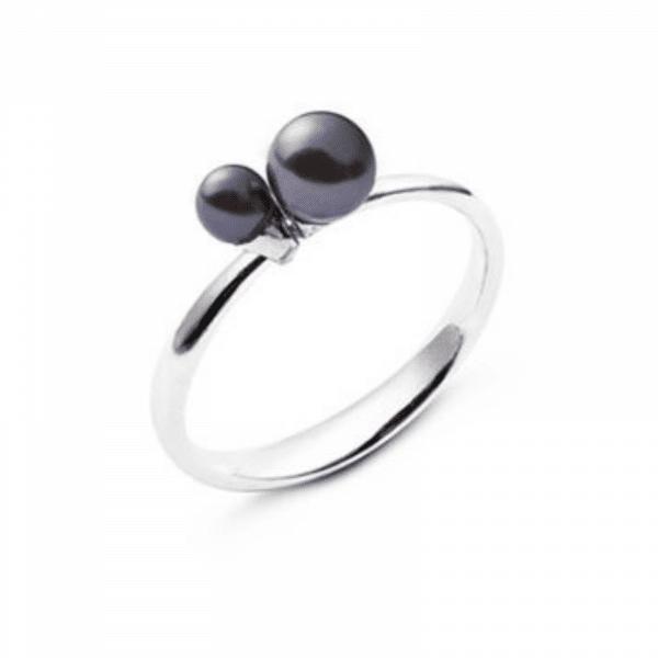 Кольцо из серебра с жемчугом - Каблучка зі срібла з перлами