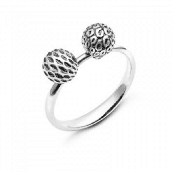 Необычное кольцо из серебра - Незвичайна каблучка зі срібла