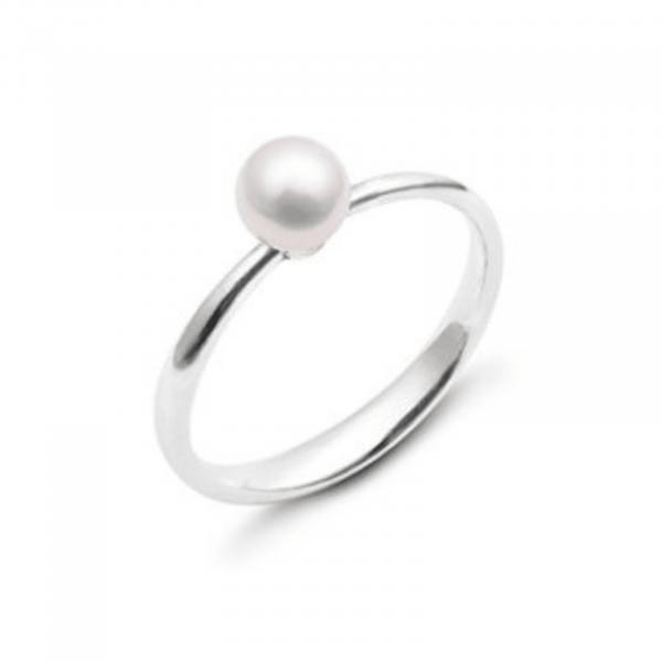 Серебряное кольцо с жемчугом - срібна каблучка з перлами
