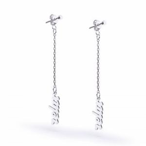 Серебряные серьги - Срібні сережки