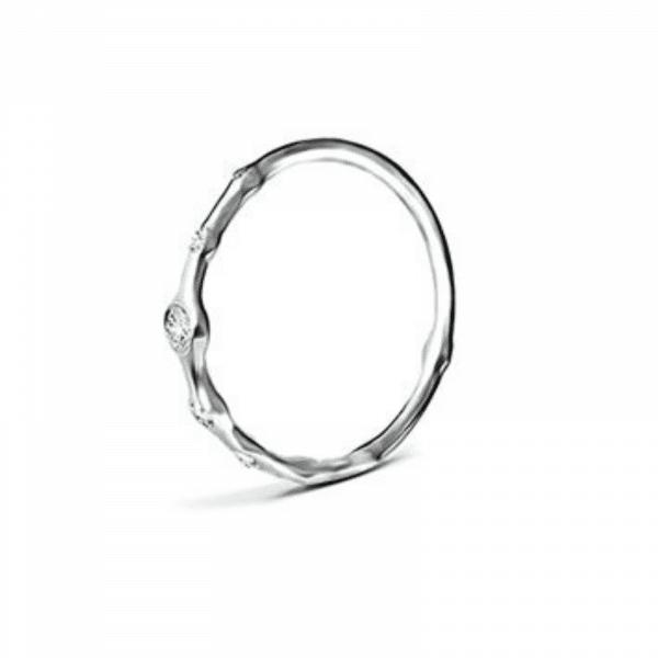 Серебряное кольцо с цитринами - Срібна каблучка з фіанітами