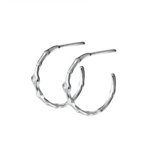 Серебряные серьги с фианитами - Срібні сережки з фіанітами