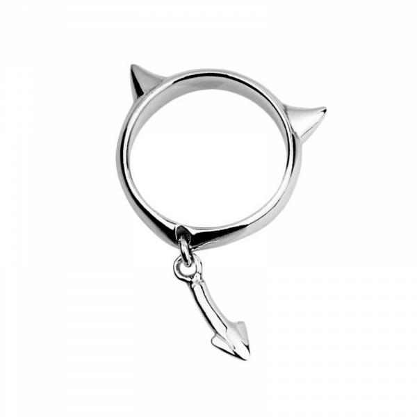 Серебряное кольцо с подвесом - Срібна каблучка з підвісом