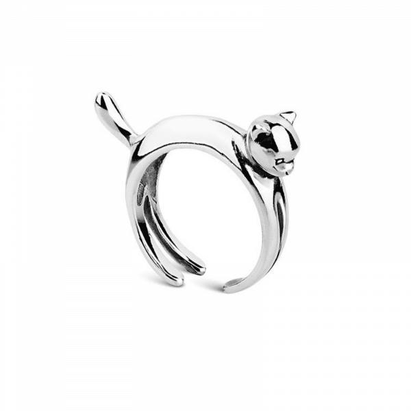 Серебряное кольцо с животным - Срібна каблучка з твариною