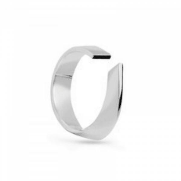 дизайнерское серебряное кольцо