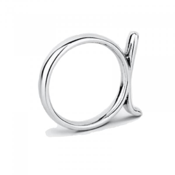 Необычное серебряное кольцо - Незвичайна срібна каблучка