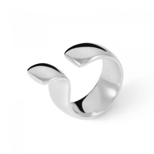 Широкое серебряное кольцо - Широка срібна каблучка