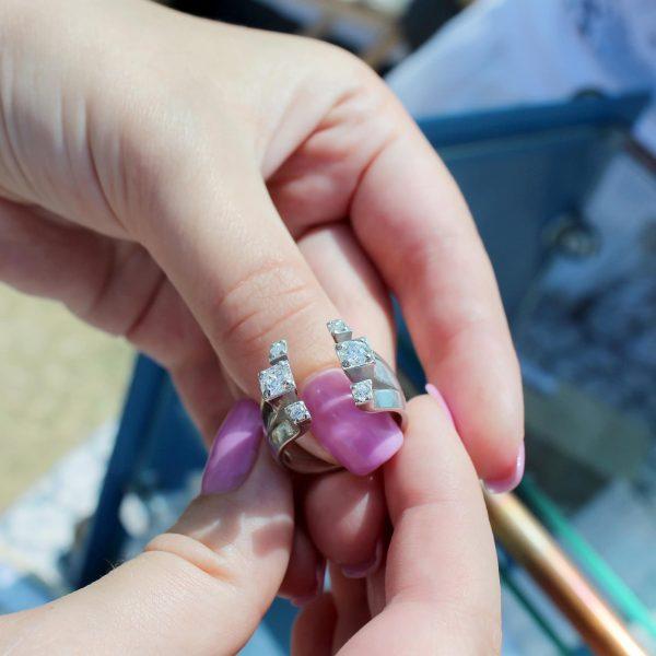 Кольцо серебро - Каблучка срібло