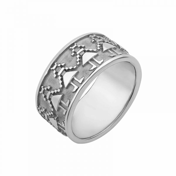 Кольцо из серебра - Кублучка зі срібла