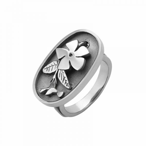 Кольцо из серебра - Каблучка зі срібла