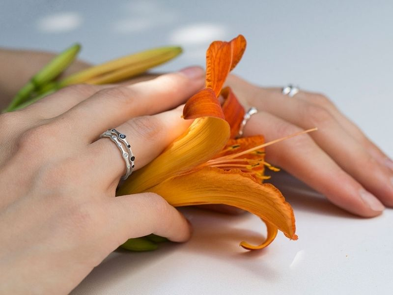 Серебряные кольца Patisserie Jewelry