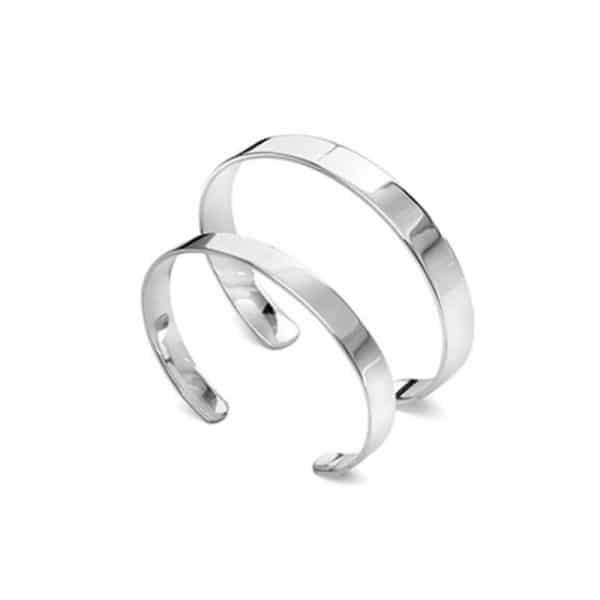 Красивые браслеты из серебра фото