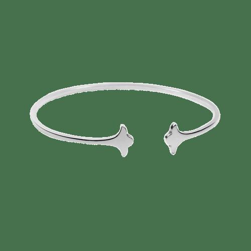 красивый браслет из серебра для девушек фото