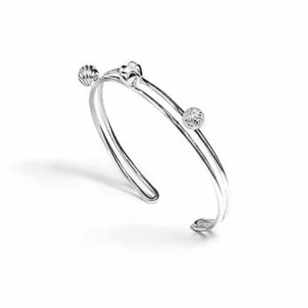 модный серебряный браслет фото