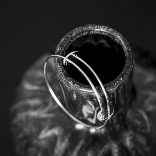 срібний браслет для дівчат фото