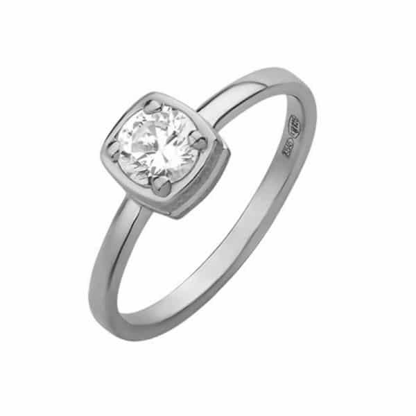 Серебряное кольцо 925 пробы фото