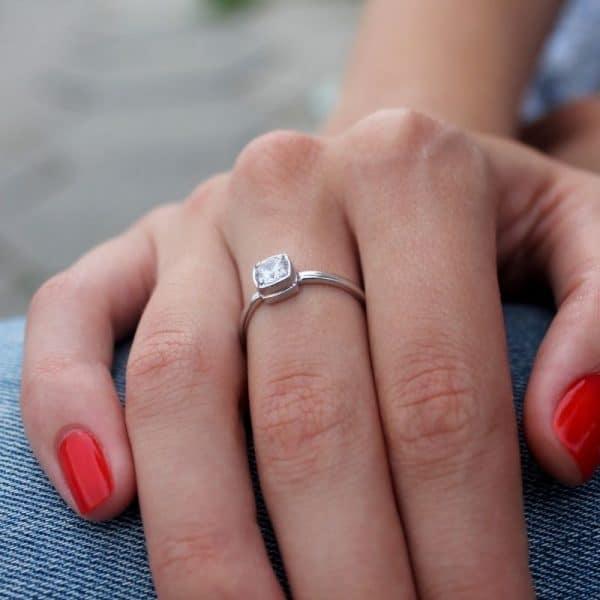 Срібний перстень 925 проби фото