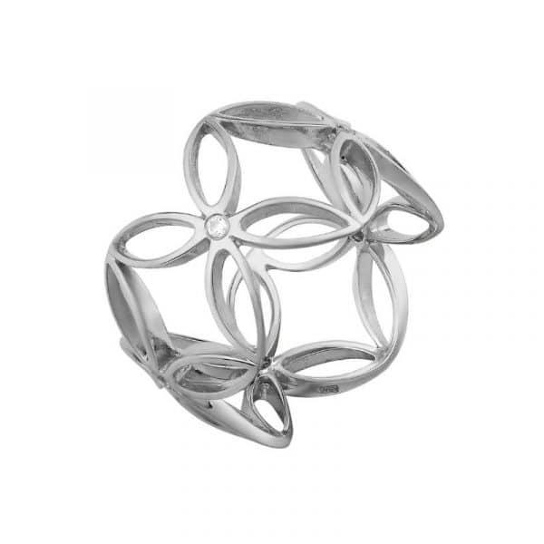 авторское серебряное кольцо фото